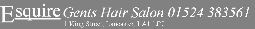 Lancaster Barber